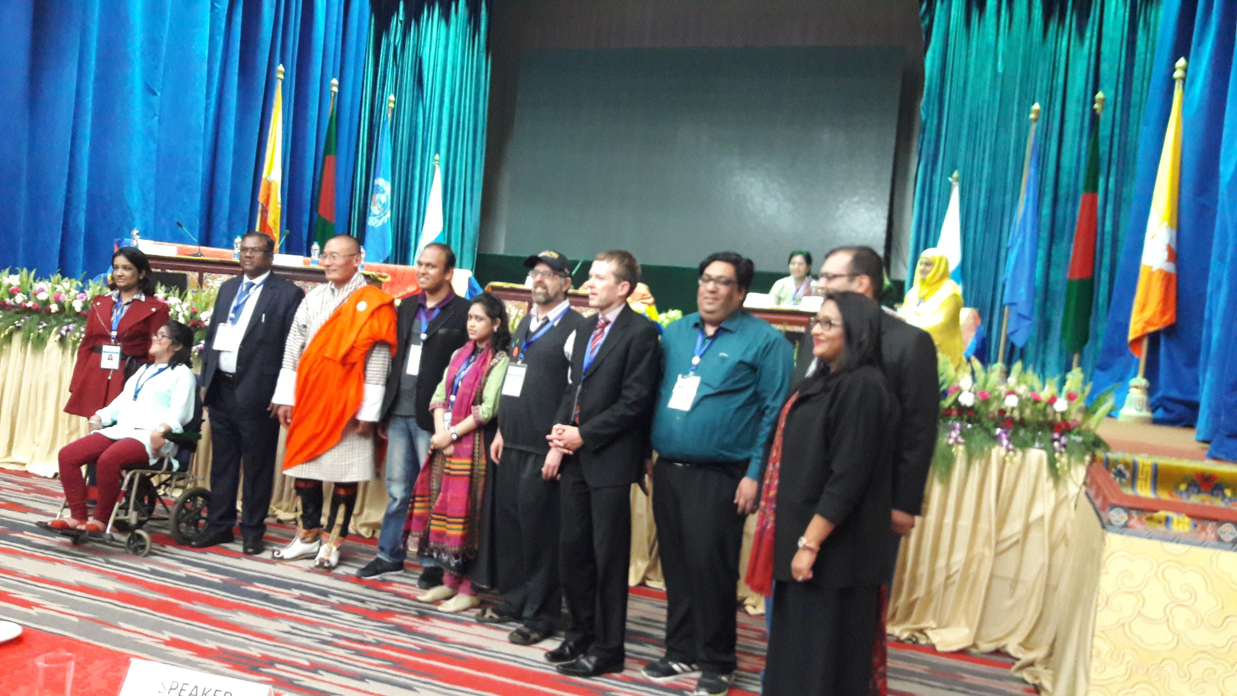autism awareness conference in Bhutan.2017